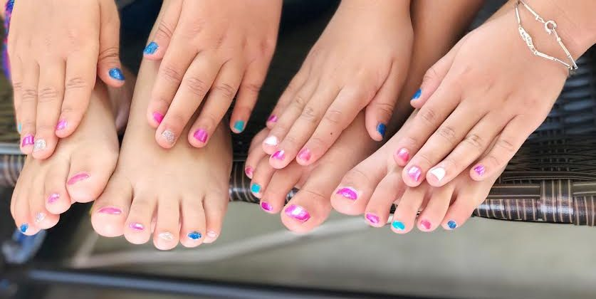 What's a Sleepover Without Nail Polish ?