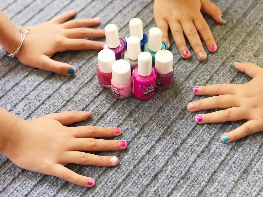 What\'s a Sleepover Without Nail Polish ? - Mamma Bear Says