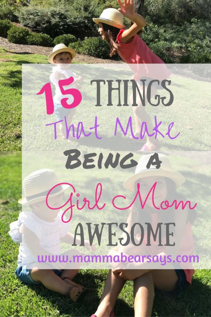 I love being a mom. And being a girl mom is AWESOME! The dress up, dance parties, and cute clothes are the just a few things I love.Read all 15 here!