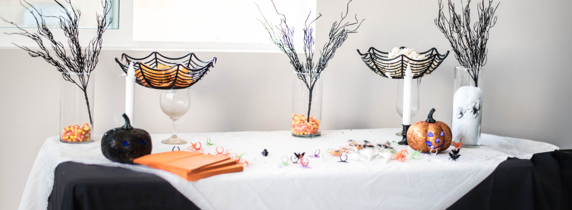 Halloween Table Decor Under $10