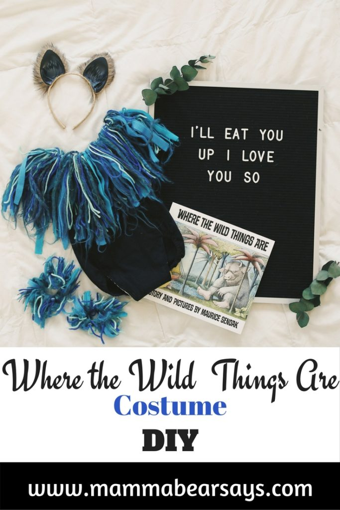 Do you have a wild thing at home? This DIY Where the Wild Things Are Monster Costume is PERFECT for your little one! Easy & fast to make!