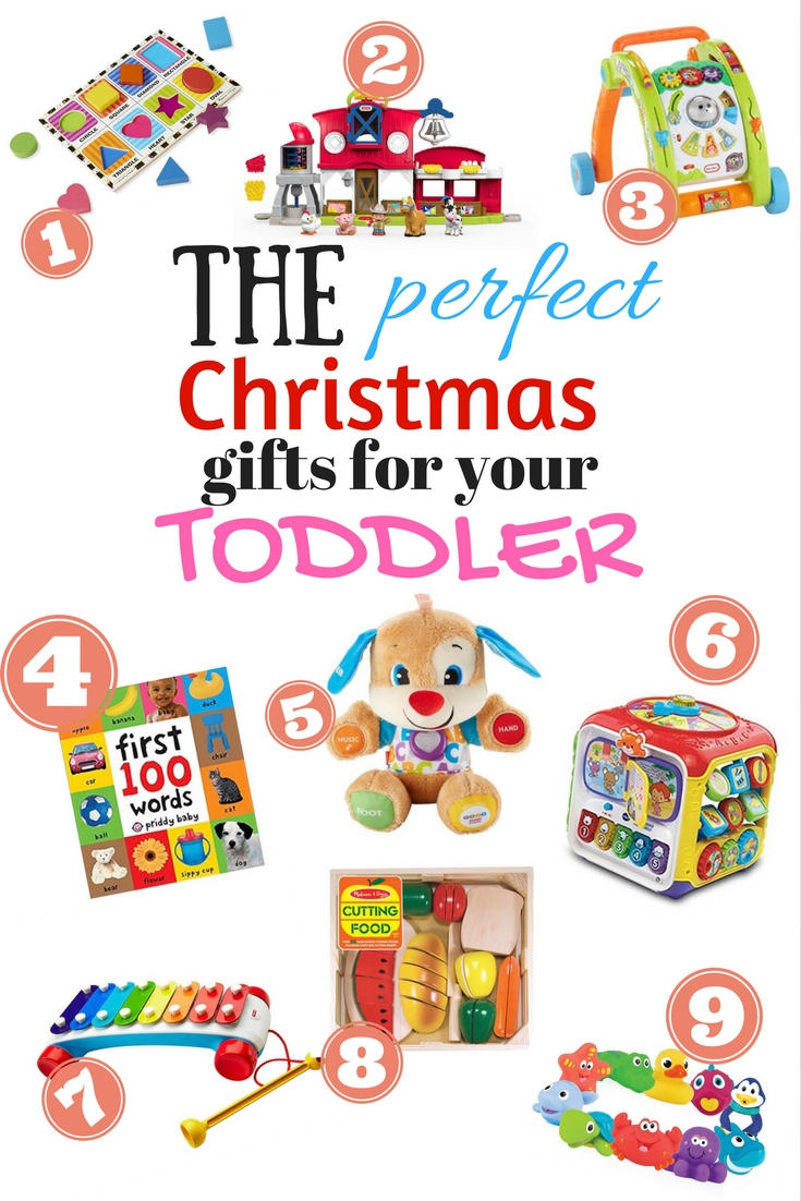 Looking for gifts for your toddler this Christmas? Check out this great gift guide for toddlers.