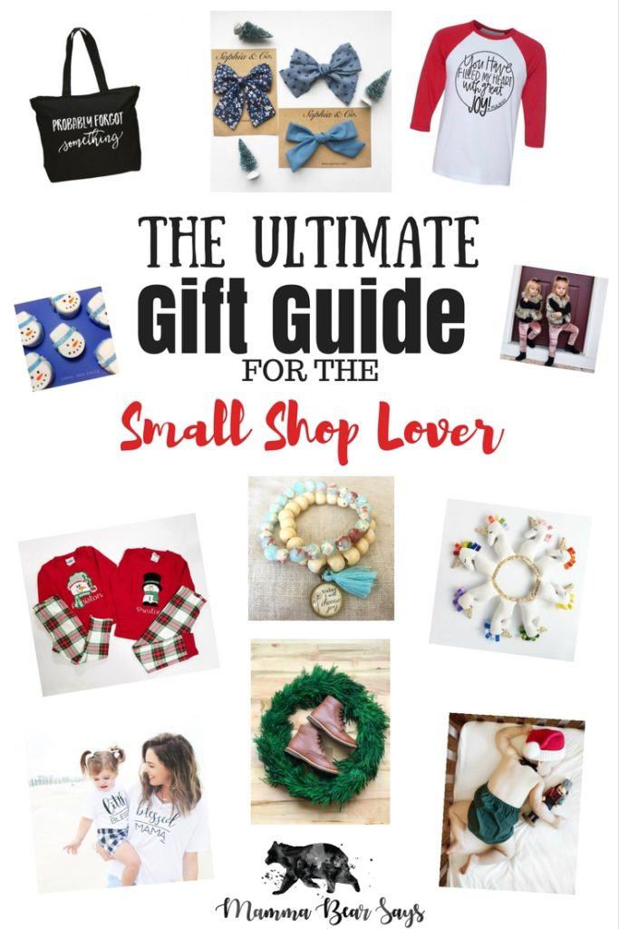 The ultimate gift guide for all the small shop lovers