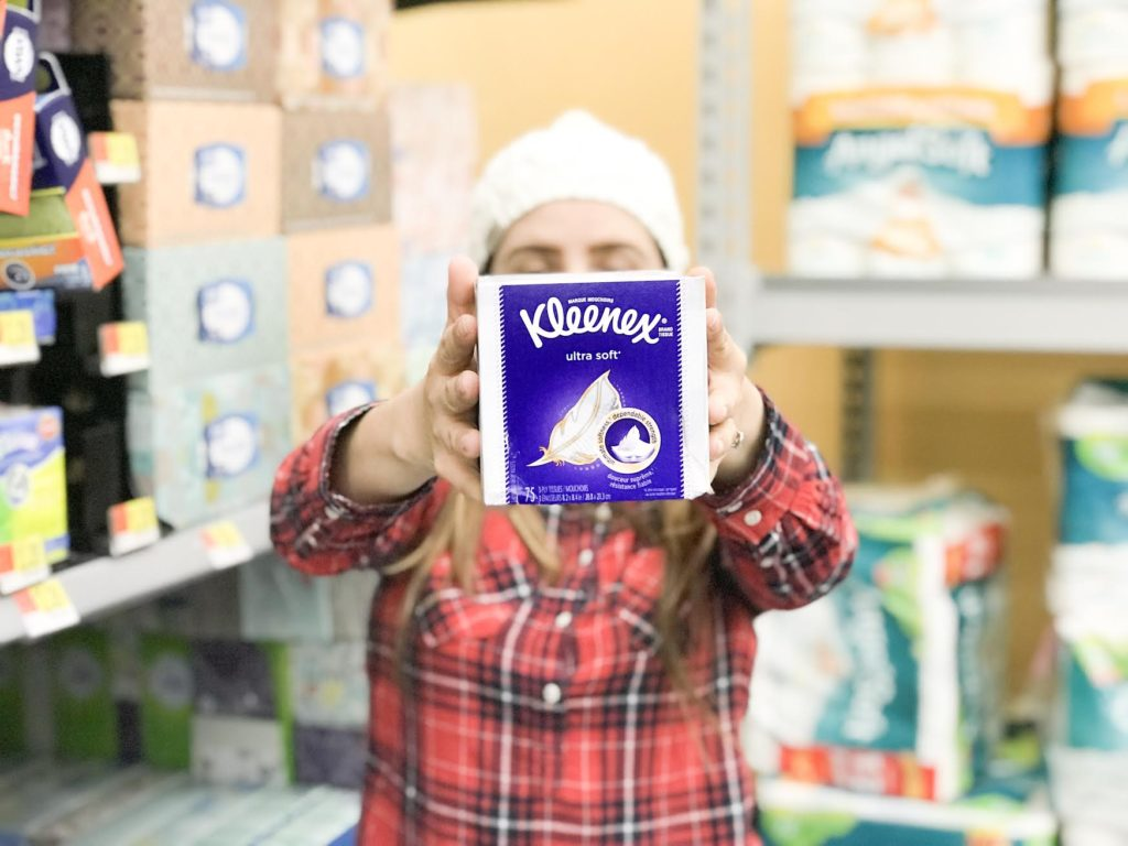 [ad]The cough, the chills, the fever. It usually starts with one of the kids and before we know it we are sick too! Read my 5 ways to take care of your sick family with Kleenex!