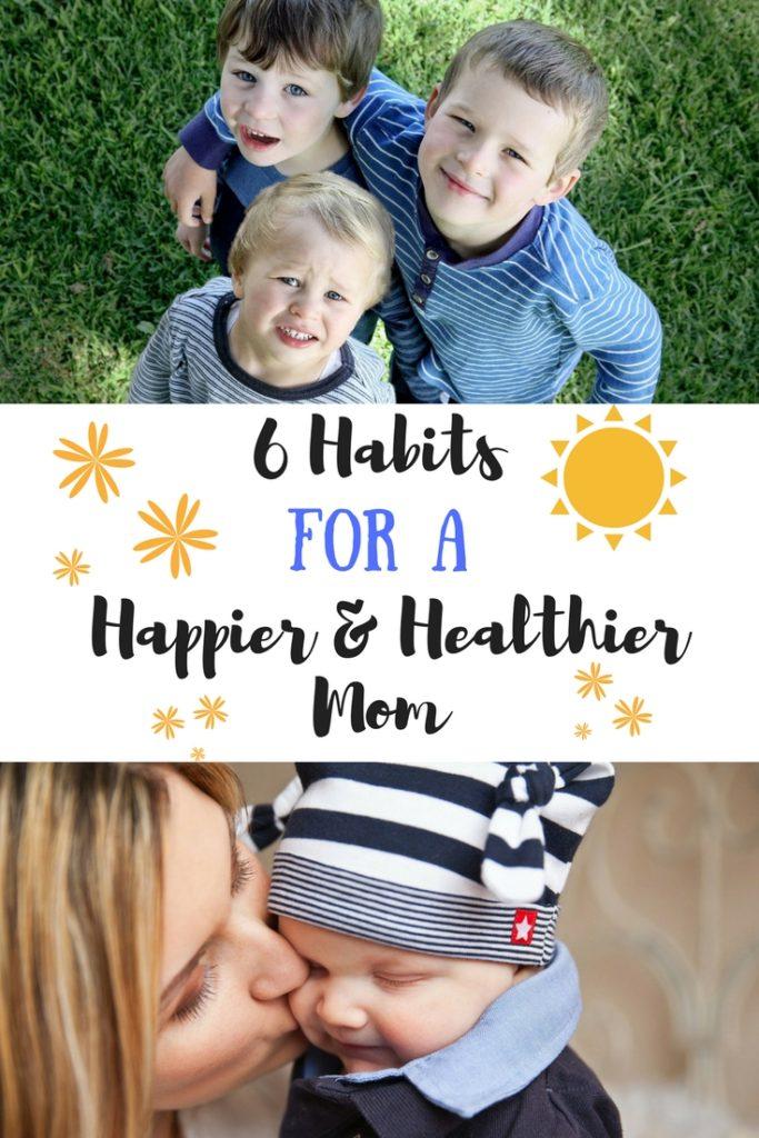happier and healthier mom