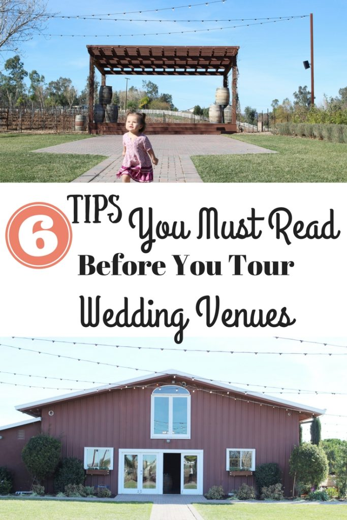 Choosing a wedding venue is one of the most important parts of wedding planning. These 6 tips are must reads to help you prepare for your venue tours. #wedding #weddingplanning #weddingtime #weddingvenue #venuetour #weddingceremony #weddingreception #weddingdress #bridetobe #bride #groom #bridesmaids #groomsmen #bestman #weddingtoast