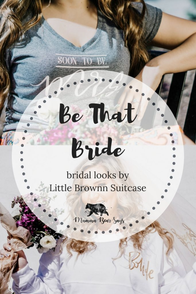 Be That Bride. Own your new role as a bride with items from Little Brownn Suitcase- your one stop shop for everything bride! bride, bride to be , bride gear, bride shirt, bridesmaid shirt, custom shirts, outfits, clothing, wedding gear, wedding clothes, wedding, wedding planning, wedding decor, small shop, shopping, bridesmaids, bridesmaid gifts, bride gifts, groom gifts, moh, maid of honor