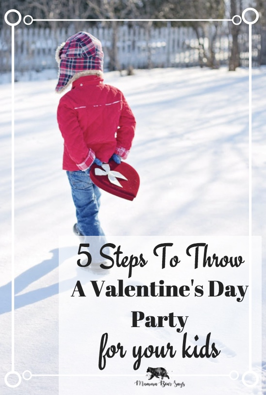 This year Valentine's Day is about spending it with our kids. With these 5 tips you can throw a quick and easy Valentine's Day Party perfect for your kids. Valentine's Day, valentine, hearts, flowers, love