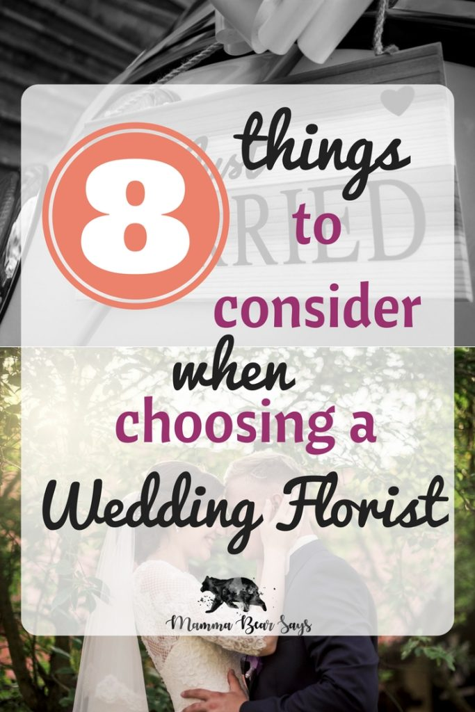 Floral takes up the majority of decoration and details at a wedding. Choosing the right florist requires you to do some searching. These 8 things will help you find yours!