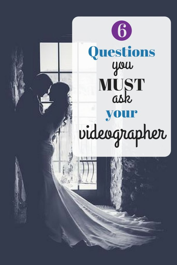 Hiring the right videographer for your wedding day requires knowing the right questions to ask. Let these 6 MUST ask questions guide you in finding the right videographer for you.  #weddingplanning #weddingplanner #weddingtime #weddingplans #weddingvideo #weddingvideographer #videographer #weddingvendor #weddingmovie #ido #weddingmust #weddingtime #weddingfun