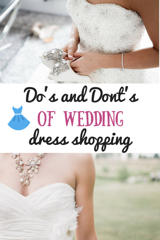 Wedding dress shopping is an exciting part of wedding planning. This list of do's and don'ts will help you prepare for this fun filled day! Wedding, wedding planning, wedding dress, ballgown, mermaid gown, trumpet tail, a line dress, wedding gown, gowns, wedding dresses, bride, bride to be, brides, necklines, shopping tips