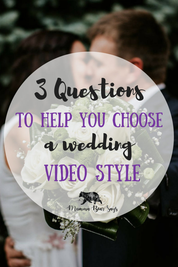 Your wedding video is a reflection of your special day. Choosing your style might not be as easy. These 3 steps will help guide your decision.  wedding video, wedding, wedding planning, wedding videographer, wedding movie, wedding fun, wedding time, wedding planner, bouquet, bride, groom, centerpieces