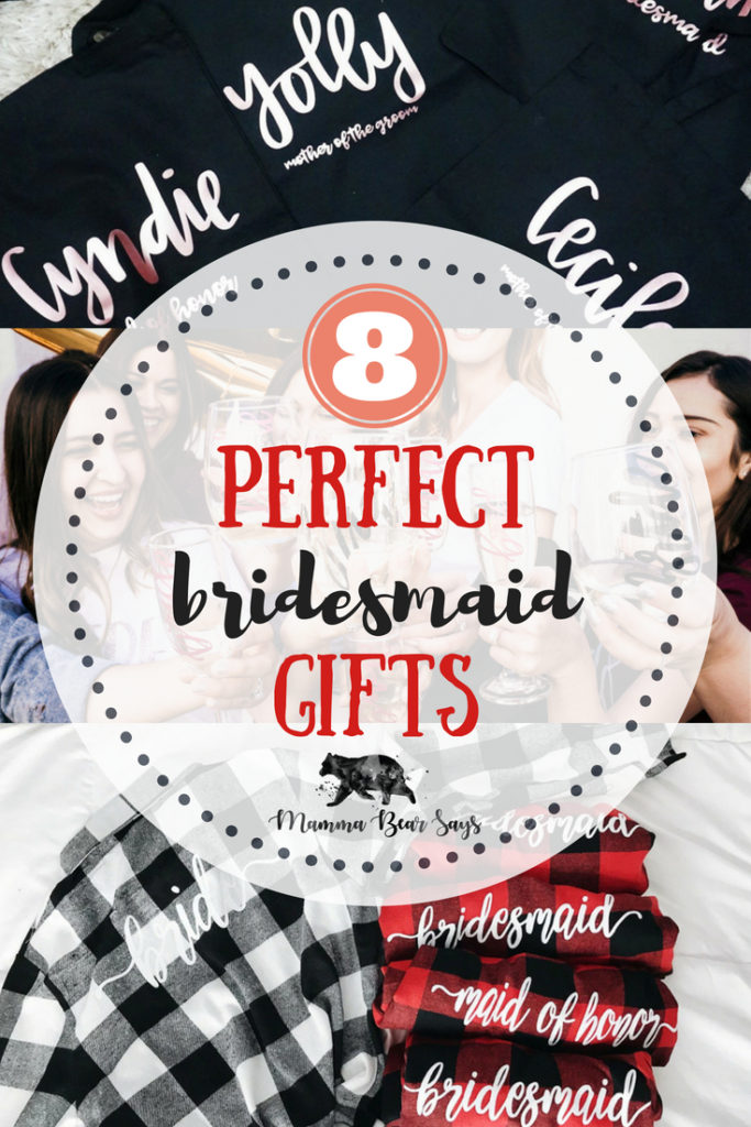 These bridesmaid gifts from Little Brownn Suitcase are perfect to say thank you to your bride tribe for being there for you!