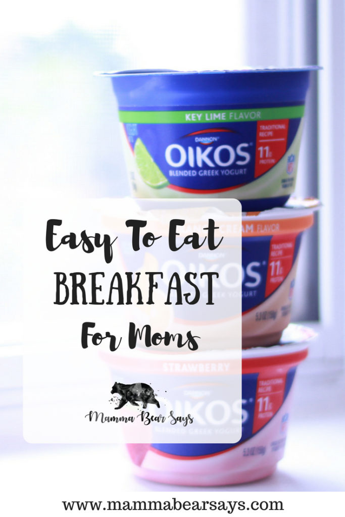 #ad Having breakfast as a mom can seem like the impossible. With Dannon Oikos Traditional Greek Yogurt I am able to enjoy a tasty and wholesome meal at ease. yogurt, breakfast, food on the go, morning routine, greek yogurt, breakfast on the go, dannon, oikos greek yogurt, oikos, eat right, mom life, parenting, mom win, being a mom, motherhood