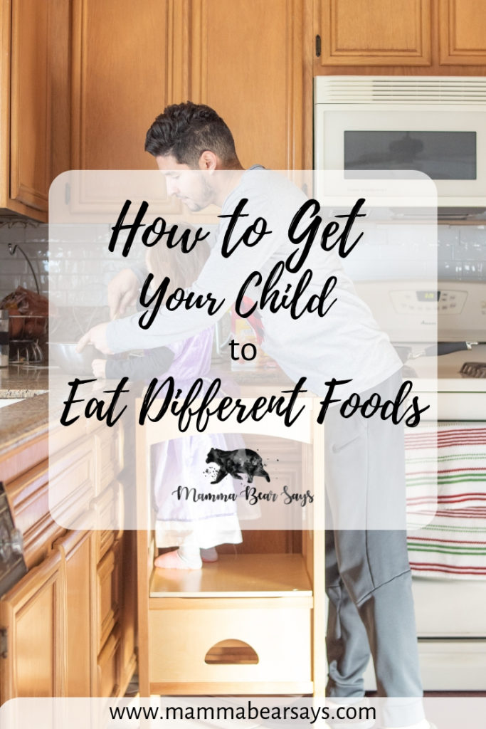 Getting a problem eater to try different foods can be torture! I'm sharing some tips and tricks we have learned and how they have helped Lia eat new foods! #eating #feedingtoddlers #toddlers #problemeater #pickyeater #pickyeating #pickyeatingtips #parenting #makefoodfun #kitchenhelper