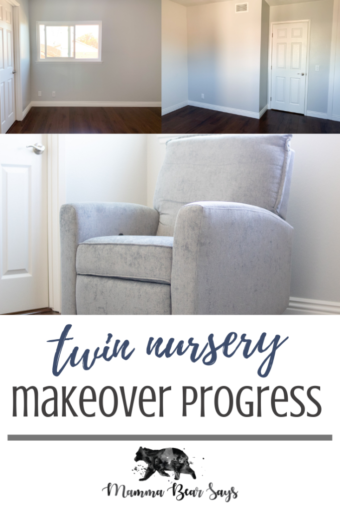 Our twin boys' nursery makeover is underway. With my husband hard at work and our beautiful furniture from Baby Relax we are creating the most beautiful nursery our twin boys could ever want #babyrelaxofficial #babynursery #babyroom #nursery #nurseryinspo #nurseryinspiration #twinnursery #twins #boynursery #boysnursery #babynursery #diynursery #homemakeover