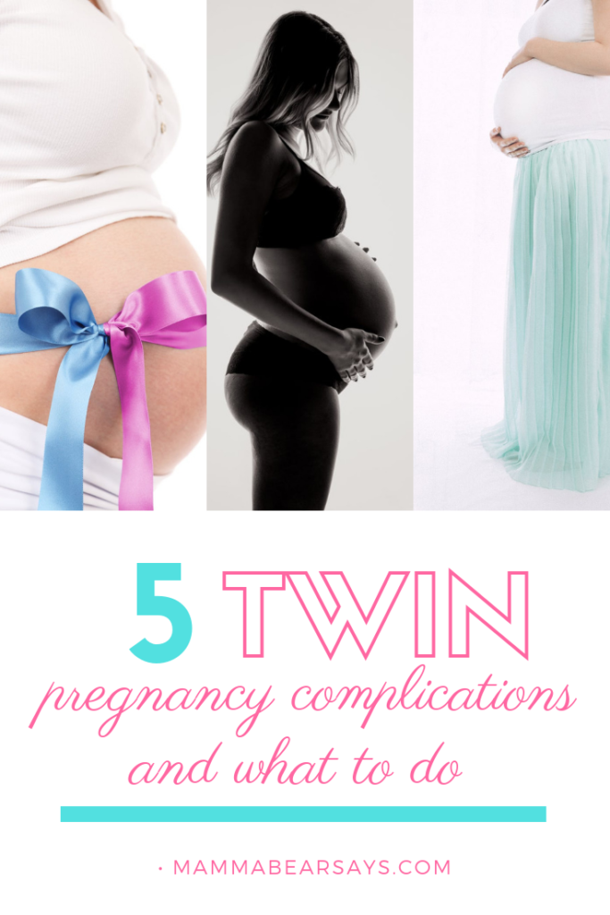 Twin pregnancies are full of so many surprises. With twin pregnancy we are at higher risk for these 5 pregnancy complications #twinpregnancy #twins #pregnancy #twinmom #pregnant #pregnancyhealth #healthypregnancy #health #pregnantmom #preggo #pregnancyannouncement #twinbump #babybump