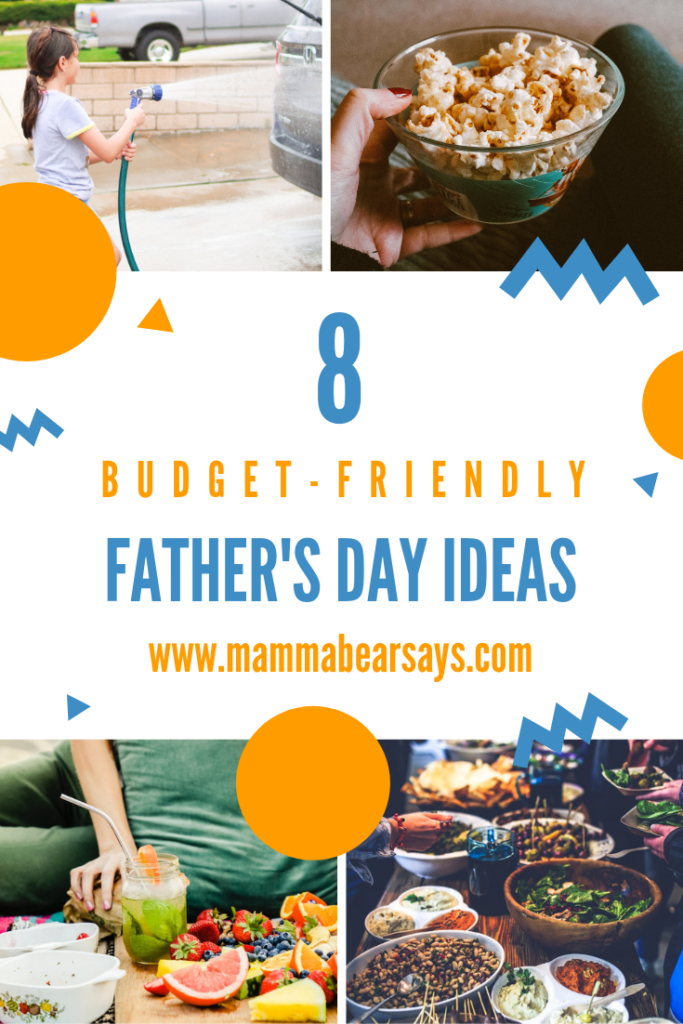 Father's Day is around the corner and celebrating the special fathers in your life does not need to break the bank! 8 simple ideas perfect for HIM #FathersDay #HappyFathersDay #FatherDay #fathers #fatherhood #dad #dadlife #dads #Dadday #june #budgetfriendly #celebrating #celebration #fordads #firstfathersday #firsttimedad #parenting
