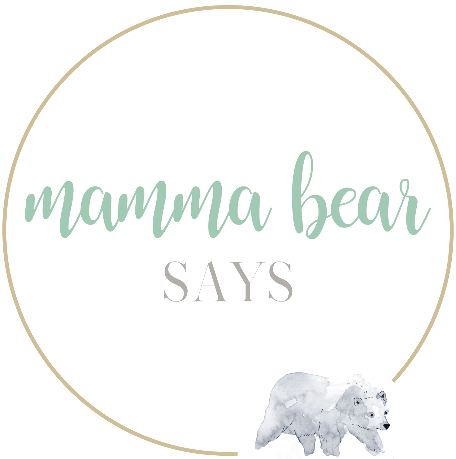 Mamma Bear Says