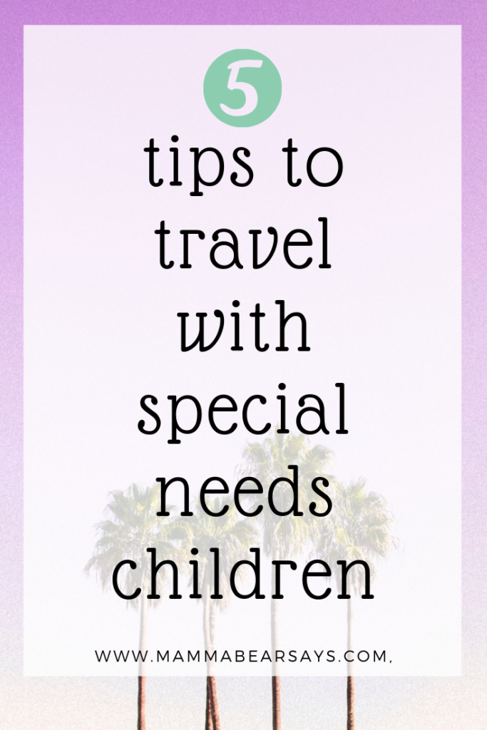 Summer is a very common time to travel with our families. However, for our special needs kids it can be scary and new. These 5 tips will be golden! #travel #traveltips #familytravel #travelwithkids #specialneeds #specialeducation #adhd #asd #speechdelay #autism #parenting #parenthood #forparents #specialneedsparents