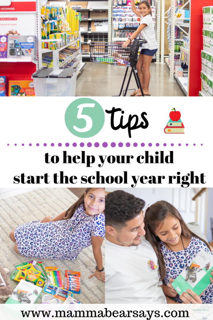#AD Help your kids start the school year off right with these five tips and check out the back to school selection at Office Depot for all the right tools! #OfficeDepot #BackToSchool #BTS #BTS2019 #BacktoSchoolShopping #schoolsupplies #supplyrun #backtoschooltime #schoolyear #school #education #officesupplies #shoppingtips