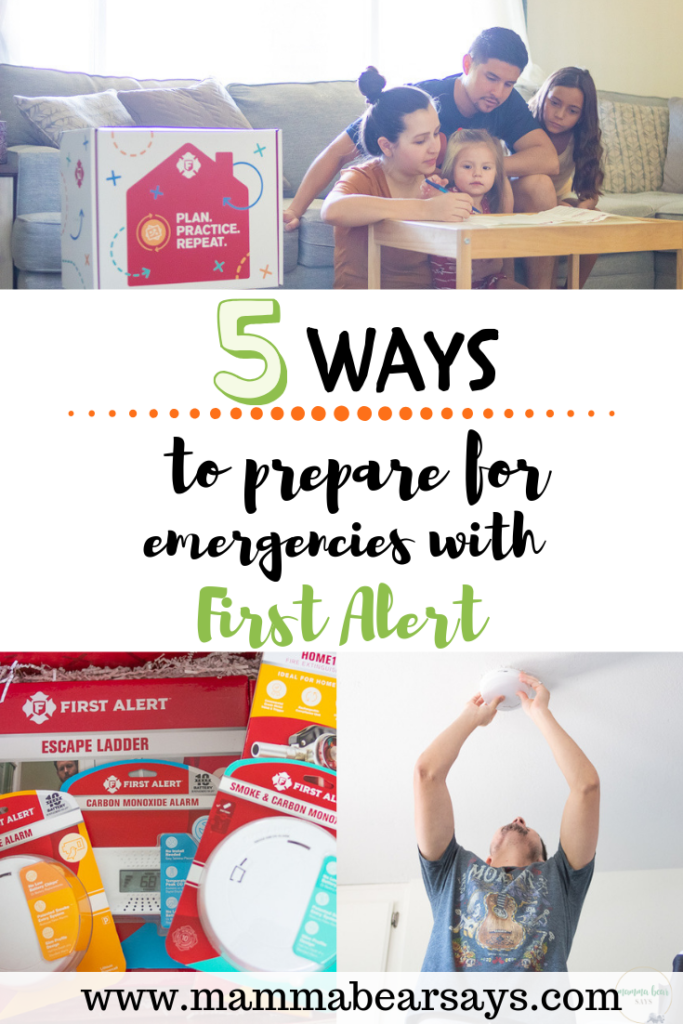 #ad Preparing for emergencies is so important specially as parents. With the help of First Alert we have figured out 5 ways to prepare and you should too #PlanPracticeRepeat #familyplanning #family #emergency #emergencyplan #emergencyprepare #fire #smokealarm #firealarm #earthquakes #emergencies #prepare #planpracticerepeat #preparedparents #parenting #parents