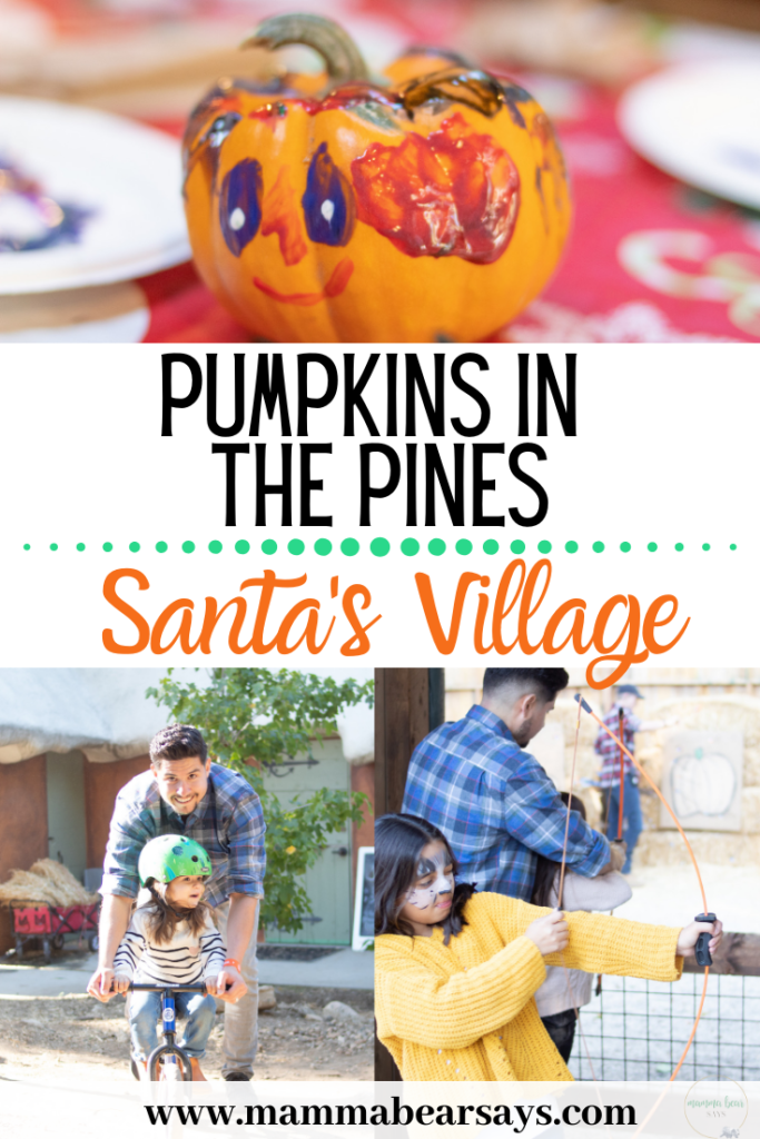 Santa's Village is hosting the ultimate pumpkin adventure- Pumpkins in the Pines. Make a trip to Lake Arrowhead and enjoy pumpkins & Santa! #ad #santasvillage #pumpkins #pumpkinpatch #pumpkin #october #lakearrowhead #travel #lablogger #travelblogger