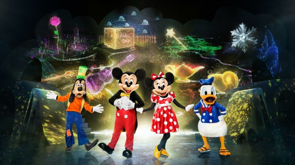 What is Disney on Ice's new Mickey's Search Party show all about? I have the details, ticke tinformation, and a discount code for you! #DisneyonIce #DisneyMagic #disney #disneylove #disneydays #disneyfamily #disneyfamilia #disneyland #mickeymouse #minniemouse