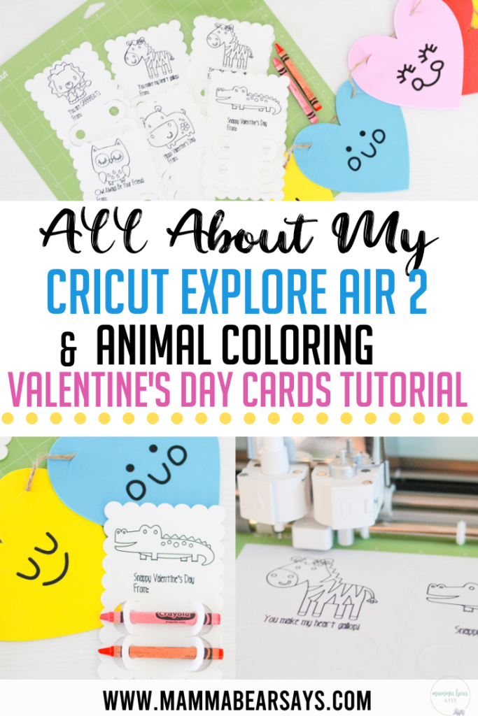 My new Cricut Explore Air 2 is such an upgrade from my old machine! There is so much I can create and started with some Valentine's Day Cards! #Cricut #ValentinesDayCards #ValentinesDay #DIY #Crafting #PaperCrafts #CricutExploreAir2 #CricutExploreAir #kidscrafts #easycrafts #craftingmom #cards #diycards