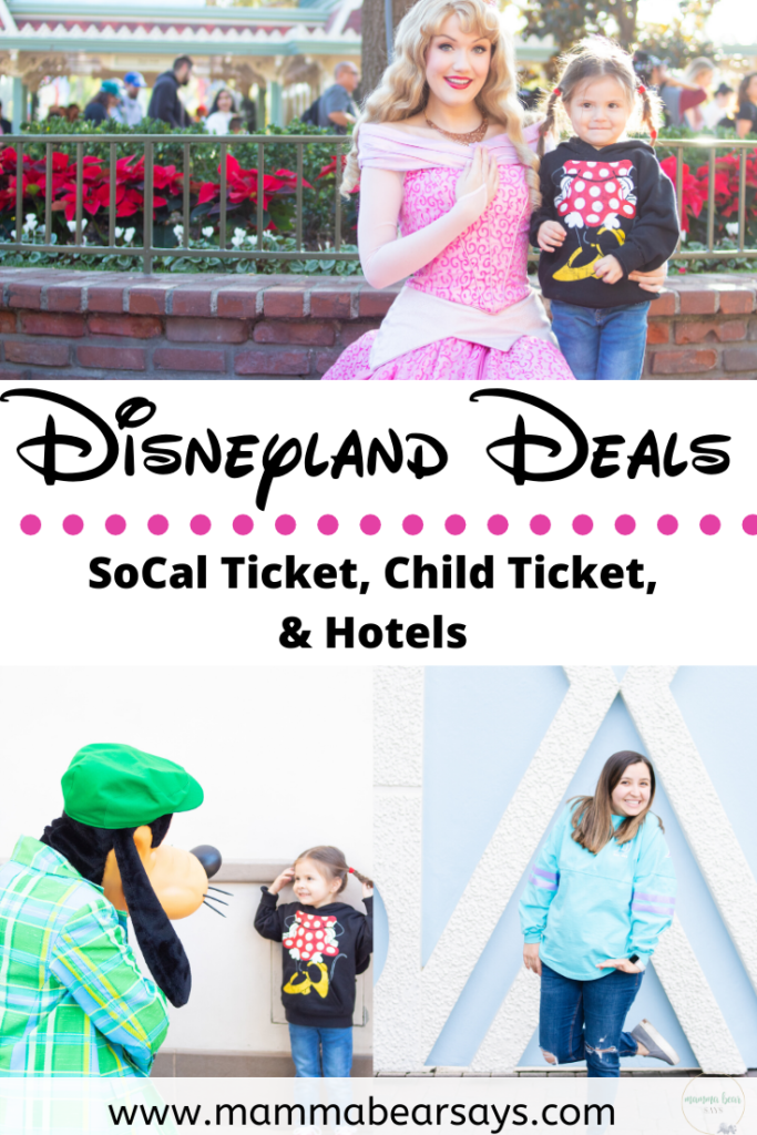 It's time to take advantage of those Disneyland Resort park ticket deals! 3 deals you don't want to miss & what is new at the parks! #Disneyland #DisneylandResort #DisneylandParks #disney #disneyfamily #disneyfamilia #disneytime #disneytrip #disneylove #mickeymouse #foodandwinefestival #dca #californiaadventure #anaheim #disneydays #disneystyle