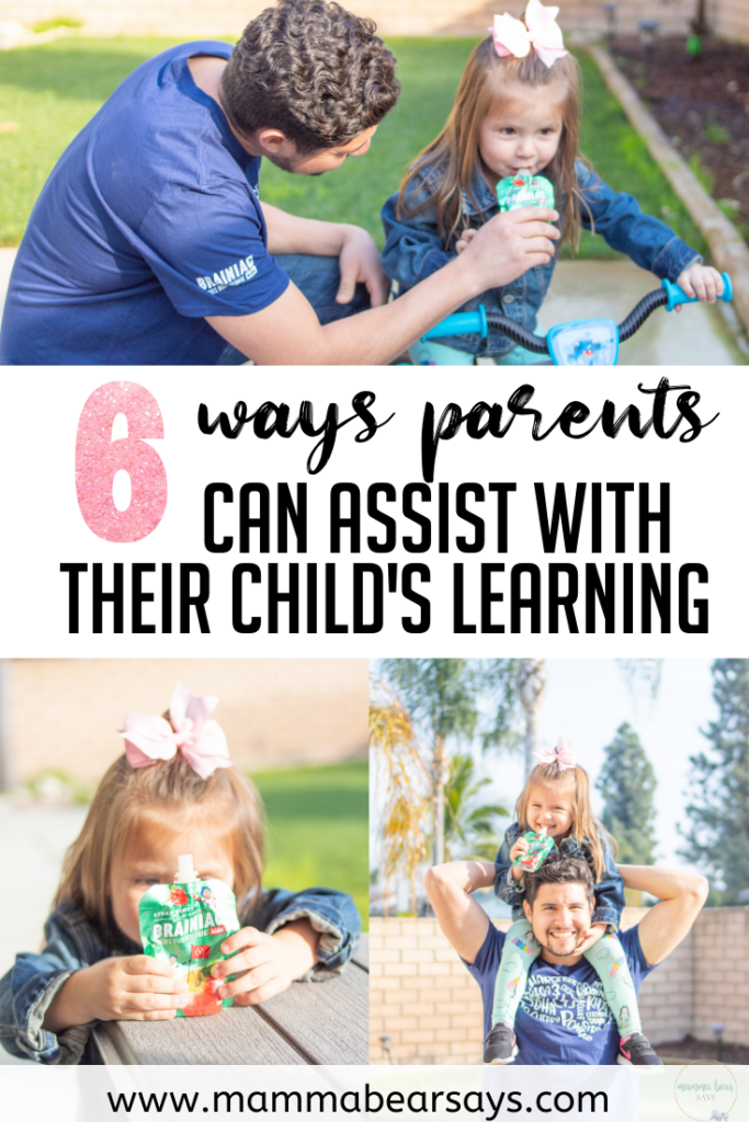 There is so much we can do as parents to help our kids with their learning. These are 6 easy ways you can try at home with your kids #learning #learn #education #educate #learningisfun #funwithlearning #parenting #parents