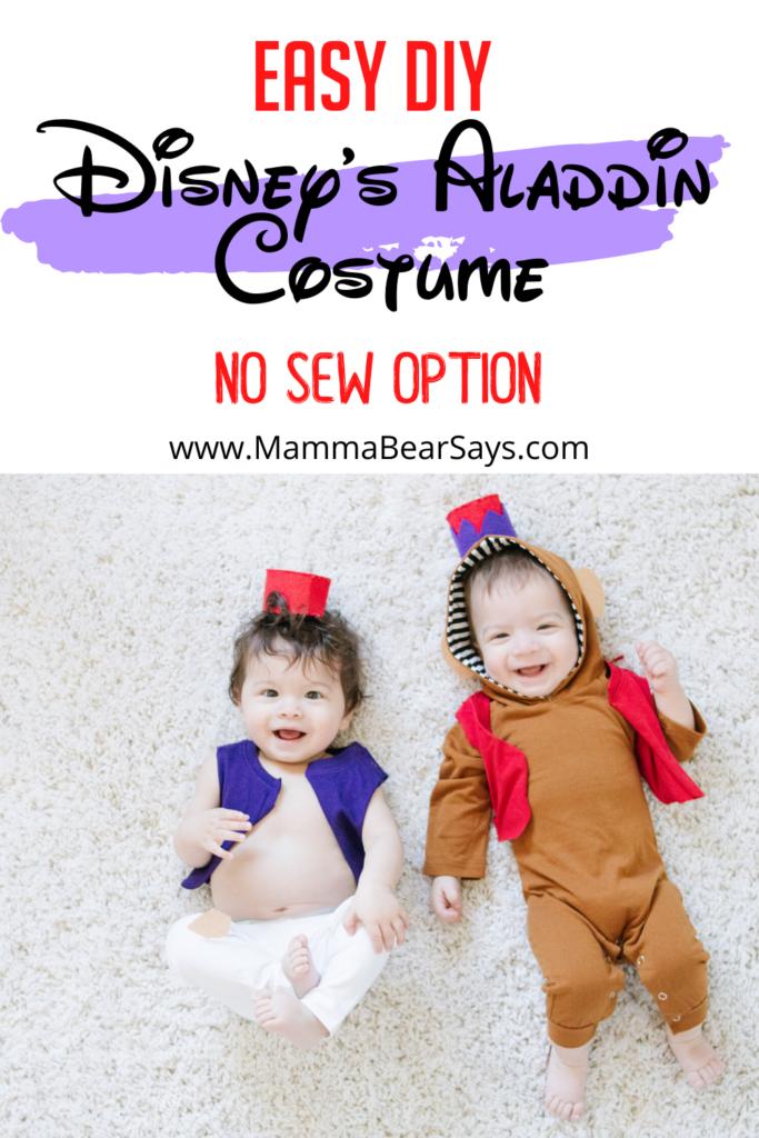 Disney Aladdin DIY Costume