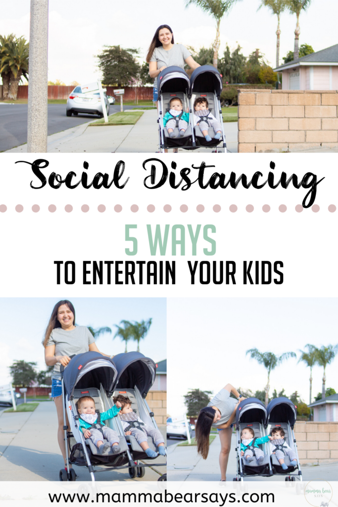 kids and social distancing