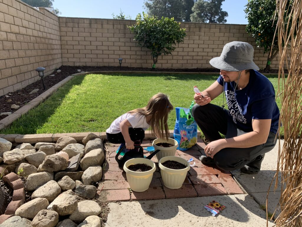 gardening to reduce anxiety