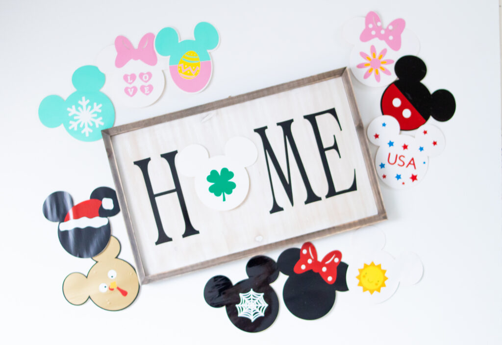 DIY Disney Sign