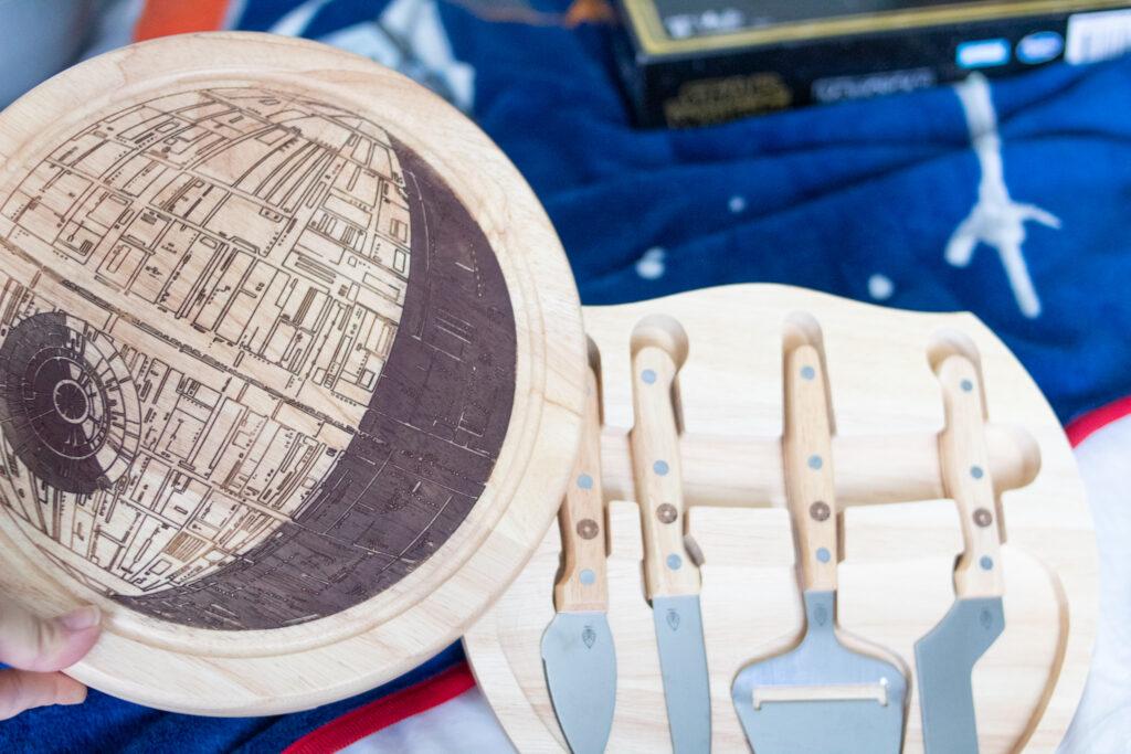 Death Star Meet & Cheese board