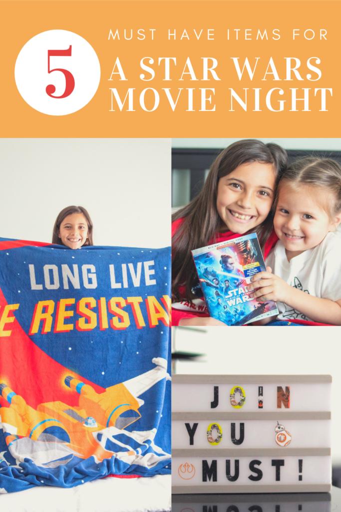 star wars movie night ideas