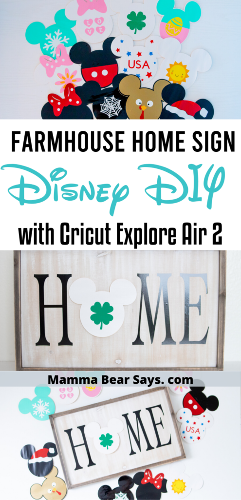 DIY Disney Farmhouse Sign