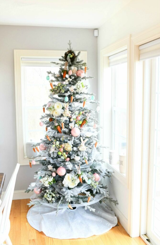 diy easter christmas tree