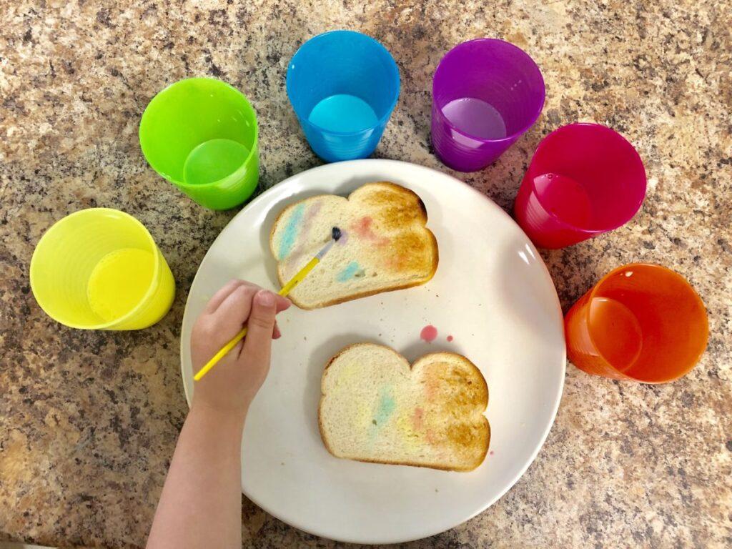 painted toast