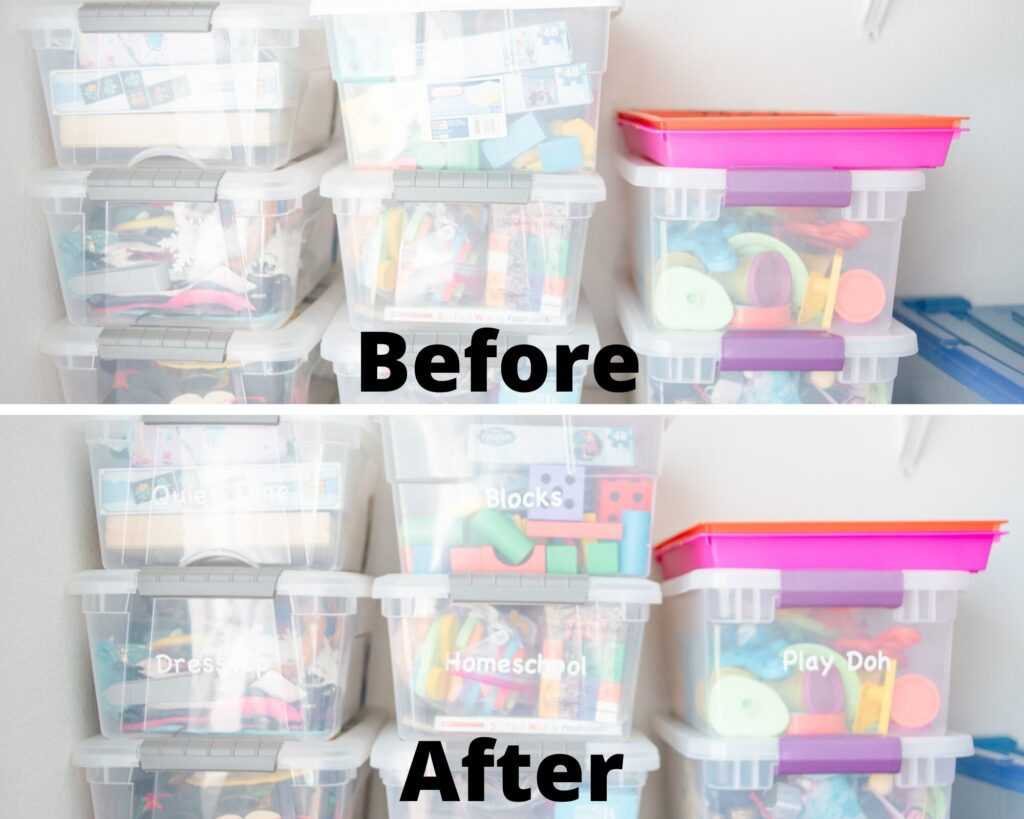diy organization for toys
