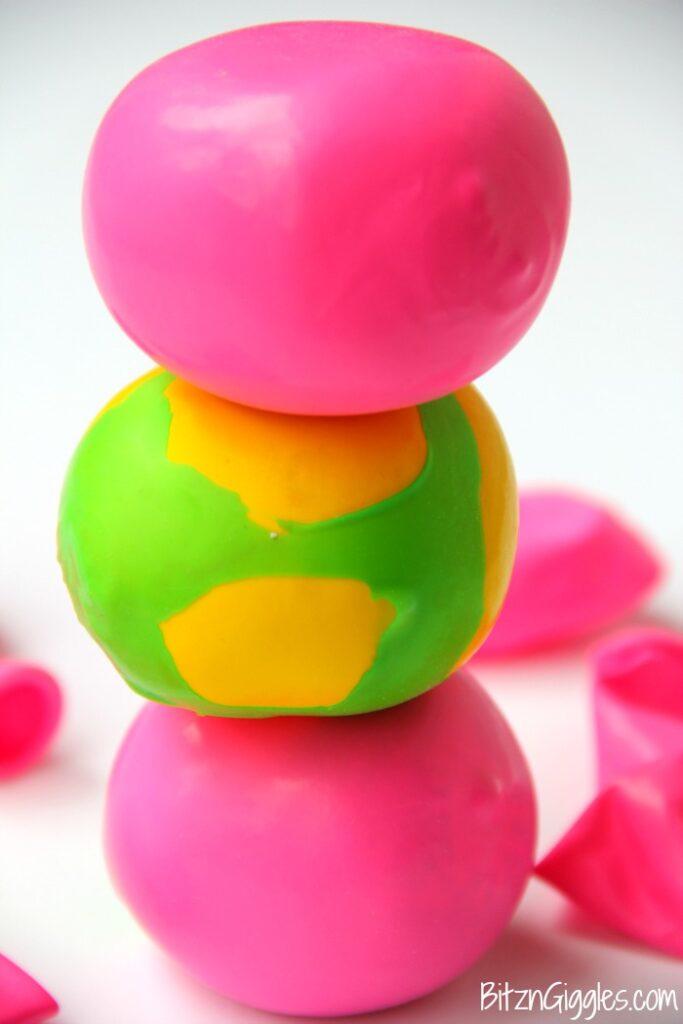 indoor activities for kids stress ball