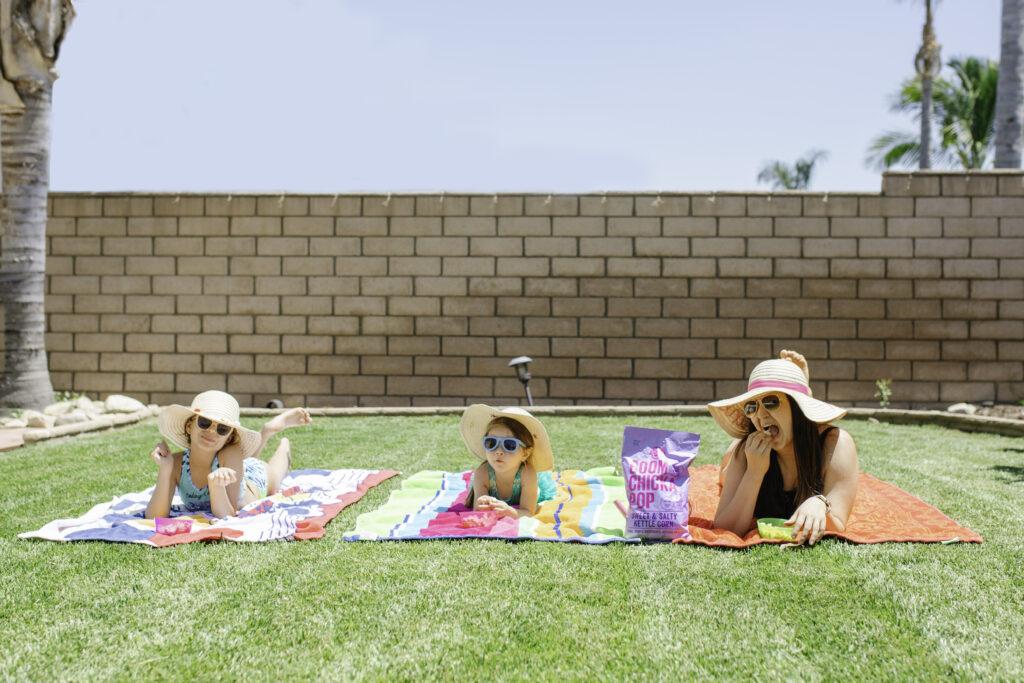 backyard pool party snacks