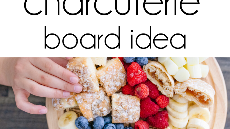 This charcuterie board idea is bound to be a huge hit with your kids! This charcuterie board is full of delicious foods and so easy to make full with Entenmann's Minis Crumb Cake & Apple Pies! #ad #charcuterieboard #charcuterie #charcuterieboardforkids #kidfood #kidsnacks #snacksforkids #familysnacks #snacktime #food