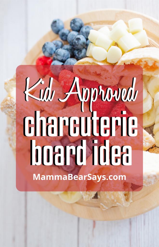 charcuterie board idea