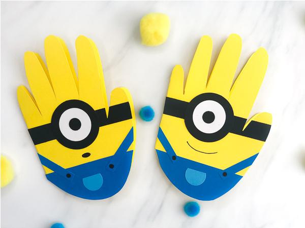 minion handprints