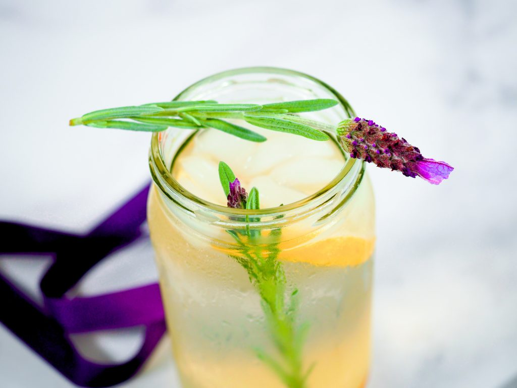 lavender lemonade for summer