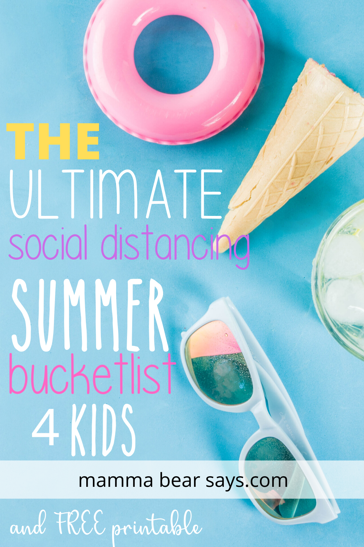 summer bucketlist 2020