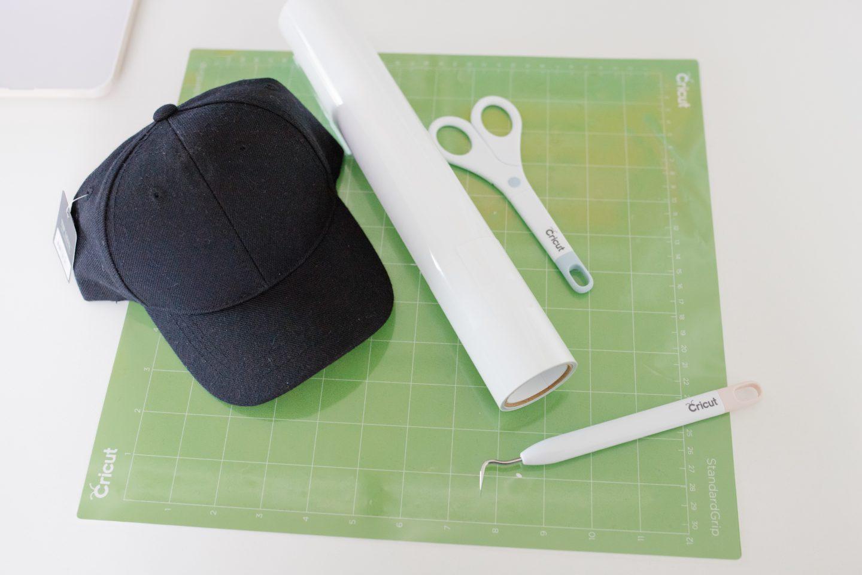 DIY DEA hat materials