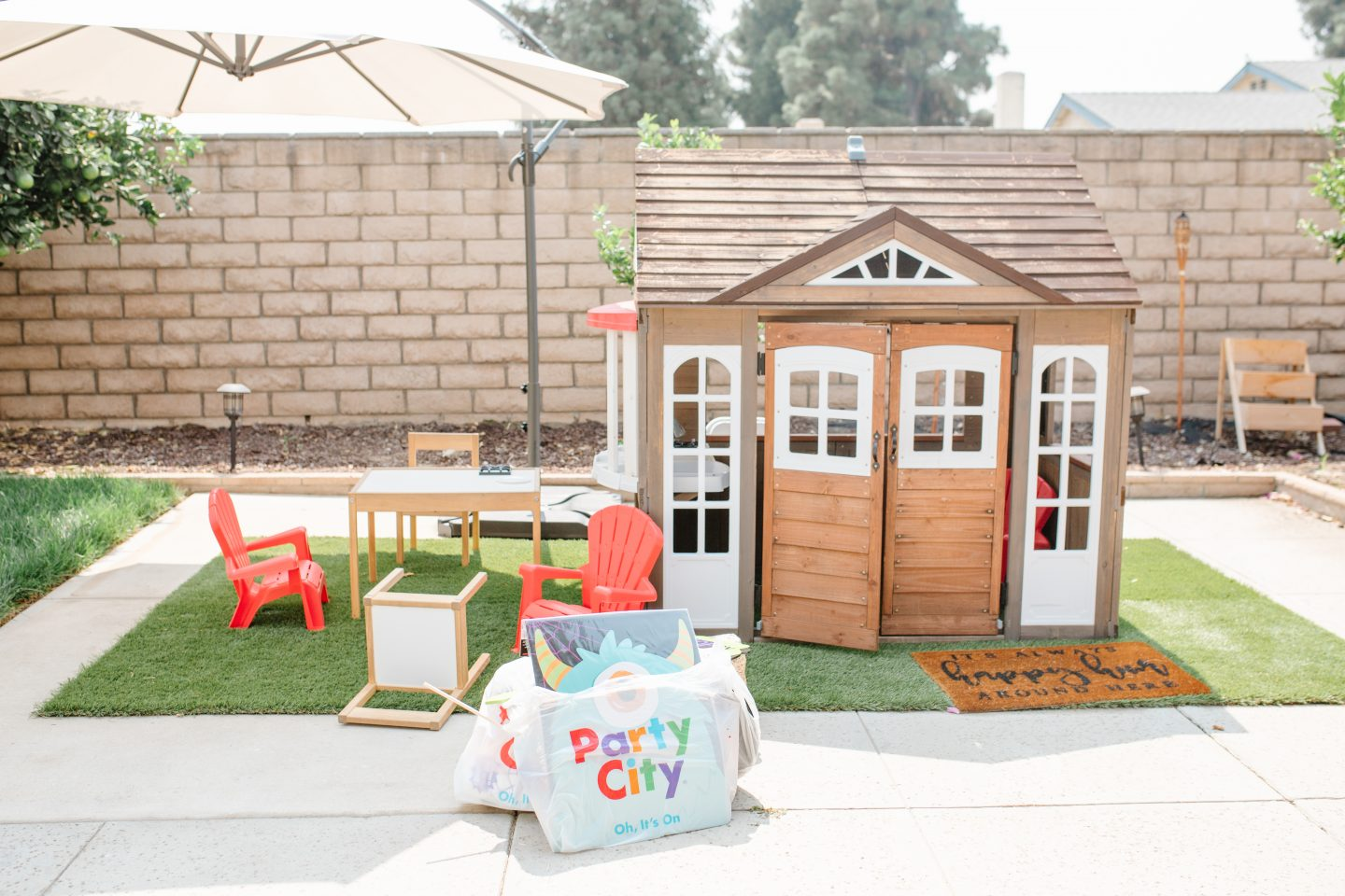 playhouse outdoors